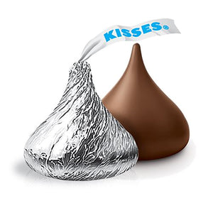 All City Candy Hershey's Kisses Milk Chocolate - 4.25 LB Bulk Bag Bulk Wrapped Hershey's For fresh candy and great service, visit www.allcitycandy.com