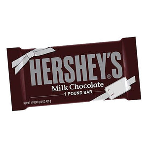 All City Candy Hershey's Milk Chocolate 1 Pound Candy Bar Candy Bars Hershey's For fresh candy and great service, visit www.allcitycandy.com