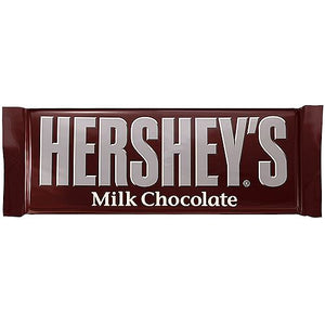 All City Candy Hershey's Milk Chocolate Candy Bar 1.55 oz. Candy Bars Hershey's 1 Bar For fresh candy and great service, visit www.allcitycandy.com