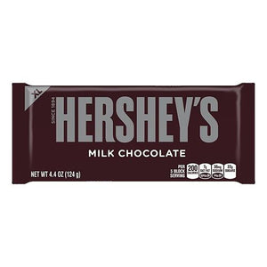 All City Candy Hershey's Milk Chocolate XL Candy Bar 4.4 oz. Candy Bars Hershey's 1 Bar For fresh candy and great service, visit www.allcitycandy.com