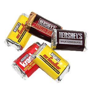 All City Candy Hershey's Miniatures Assorted Candy Bars - 3 LB Bulk Bag Bulk Wrapped Hershey's Default Title For fresh candy and great service, visit www.allcitycandy.com