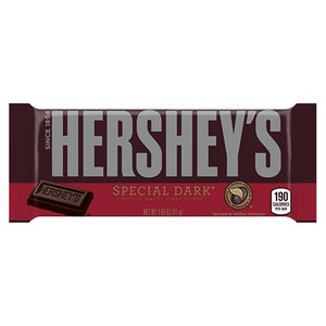 All City Candy Hershey's Special Dark Chocolate Bar 1.45 oz. Candy Bars Hershey's 1 Bar For fresh candy and great service, visit www.allcitycandy.com