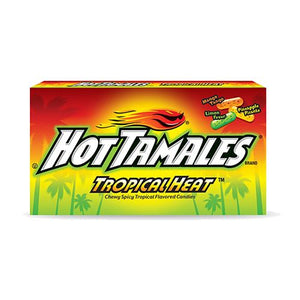 All City Candy Hot Tamales Tropical Heat Chewy Candies - 5-oz. Theater Box Chewy Just Born Inc 1 Box For fresh candy and great service, visit www.allcitycandy.com