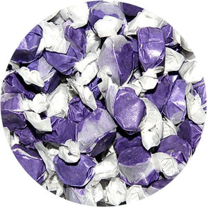 All City Candy Huckleberry Salt Water Taffy - 3 LB Bulk Bag Bulk Wrapped Sweet Candy Company For fresh candy and great service, visit www.allcitycandy.com