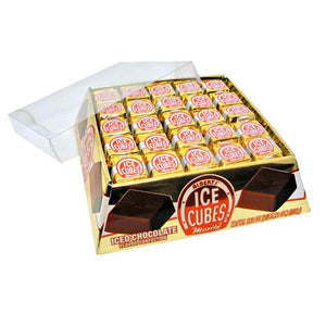 All City Candy Ice Cubes Chocolate Candy- 1.2 oz. Chocolate Albert's Candy Case of 100 For fresh candy and great service, visit www.allcitycandy.com