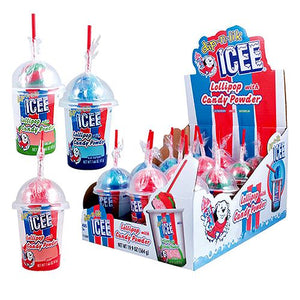 All City Candy ICEE Dip-n-Lik Candy 1.66 oz. Powdered Candy Koko's Confectionery & Novelty Case of 12 For fresh candy and great service, visit www.allcitycandy.com