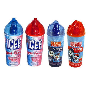 All City Candy ICEE or Slush Puppie Spray Candy .85 fl. oz. Liquid & Spray Candy Koko's Confectionery & Novelty 1 Bottle For fresh candy and great service, visit www.allcitycandy.com