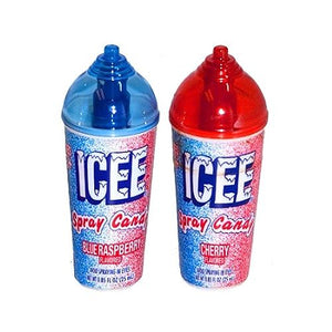 All City Candy ICEE or Slush Puppie Spray Candy .85 fl. oz. Liquid & Spray Candy Koko's Confectionery & Novelty For fresh candy and great service, visit www.allcitycandy.com