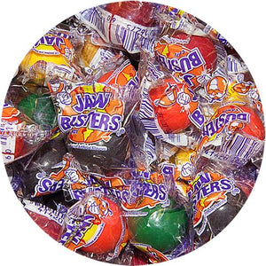 All City Candy Jaw Busters Jawbreaker Candy, Medium - 3 LB Bulk Bag Bulk Wrapped Ferrara Candy Company Default Title For fresh candy and great service, visit www.allcitycandy.com