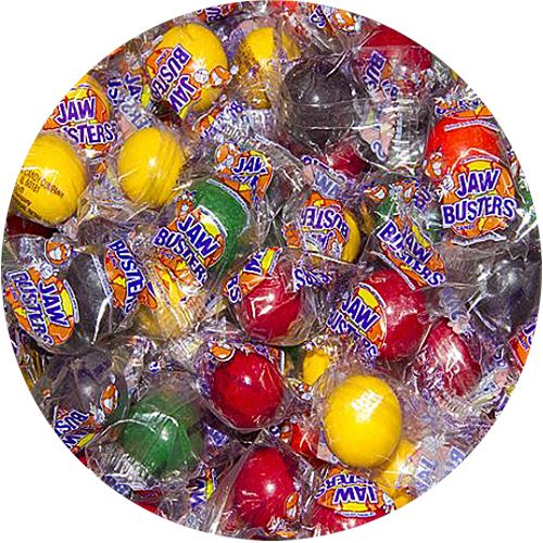 Jaw Busters Jawbreaker Candy, Small - 3 LB Bulk Bag For fresh candy and great service, visit us at www.allcitycandy.com