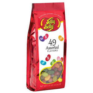 All City Candy Jelly Belly 49 Flavors Jelly Beans - 7.5-oz. Gift Bag Jelly Beans Jelly Belly For fresh candy and great service, visit www.allcitycandy.com