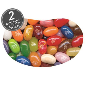 All City Candy Jelly Belly 49 Flavors Jelly Beans Bulk Bags Bulk Unwrapped Jelly Belly 2 LB Bag For fresh candy and great service, visit www.allcitycandy.com