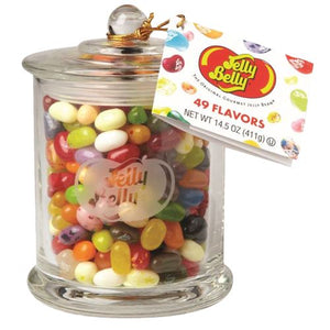 All City Candy Jelly Belly 49 Flavors Jelly Beans Glass Candy Jar Jelly Beans Jelly Belly Default Title For fresh candy and great service, visit www.allcitycandy.com
