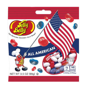 All City Candy Jelly Belly All American Jelly Bean Mix - 3.5 oz Bag Jelly Beans Jelly Belly Default Title For fresh candy and great service, visit www.allcitycandy.com