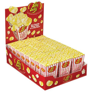 All City Candy Jelly Belly Buttered Popcorn Jelly Beans Jelly Beans Jelly Belly Case of 24-1.75-oz. Boxes For fresh candy and great service, visit www.allcitycandy.com