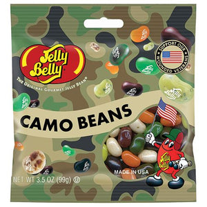 All City Candy Jelly Belly Camo Beans Jelly Beans Jelly Beans Jelly Belly 3.5-oz. Bag For fresh candy and great service, visit www.allcitycandy.com