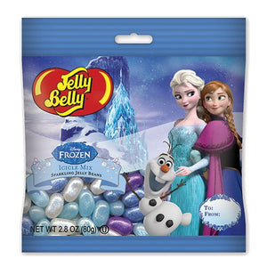 All City Candy Jelly Belly Disney Frozen Icicle Mix Sparkling Jelly Beans - 2.8-oz. Bag Jelly Beans Jelly Belly 1 Bag For fresh candy and great service, visit www.allcitycandy.com