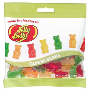 All City Candy Jelly Belly Gummi Bears Gummi Jelly Belly Case of 12 3-oz. Bags For fresh candy and great service, visit www.allcitycandy.com