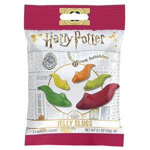 All City Candy Jelly Belly Harry Potter Jelly Slugs Chewy Candy - 2.1-oz. Bag Novelty Jelly Belly 1 Bag For fresh candy and great service, visit www.allcitycandy.com