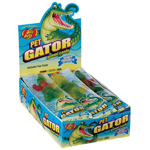 All City Candy Jelly Belly Pet Gator Gummi Candy 3 oz. Novelty Jelly Belly Case of 12 For fresh candy and great service, visit www.allcitycandy.com