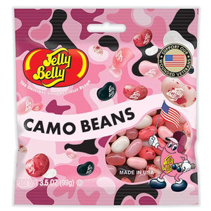 All City Candy Jelly Belly Pink Camo Beans - 3.5-oz. Bag Jelly Beans Jelly Belly Default Title For fresh candy and great service, visit www.allcitycandy.com