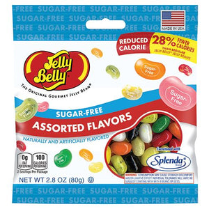 All City Candy Jelly Belly Sugar Free Assorted Flavors Jelly Beans - 2.8-oz. Bag Jelly Beans Jelly Belly Default Title For fresh candy and great service, visit www.allcitycandy.com