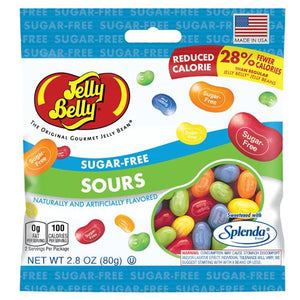 All City Candy Jelly Belly Sugar Free Sours Jelly Beans 2.8 oz Bag Jelly Beans Jelly Belly Default Title For fresh candy and great service, visit www.allcitycandy.com