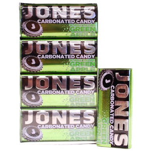 All City Candy Jones Carbonated Candy Green Apple - 25g Tin Hard Big Sky Brands Case of 8 For fresh candy and great service, visit www.allcitycandy.com