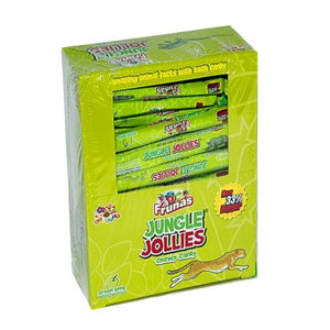 All City Candy Jungle Jollies Green Apple Chewy Candy - 48 Piece Box Chewy Albert's Candy For fresh candy and great service, visit www.allcitycandy.com