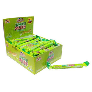 All City Candy Jungle Jollies Green Apple Chewy Candy - 48 Piece Box Chewy Albert's Candy Default Title For fresh candy and great service, visit www.allcitycandy.com