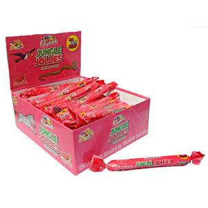 All City Candy Jungle Jollies Watermelon Chewy Candy - 48 Piece Box Chewy Albert's Candy Default Title For fresh candy and great service, visit www.allcitycandy.com