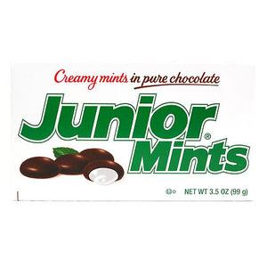 All City Candy Junior Mints - 3.5-oz. Theater Box Theater Boxes Tootsie Roll Industries 1 Box For fresh candy and great service, visit www.allcitycandy.com