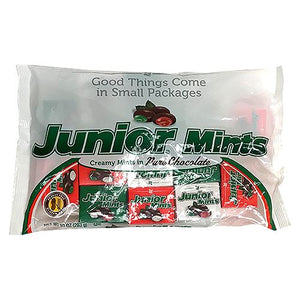All City Candy Junior Mints Christmas Snack Size Boxes - 10-oz. Bag Christmas Tootsie Roll Industries For fresh candy and great service, visit www.allcitycandy.com