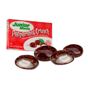 All City Candy Junior Mints Peppermint Crunch - 3.5-oz. Theater Box Theater Boxes Tootsie Roll Industries For fresh candy and great service, visit www.allcitycandy.com