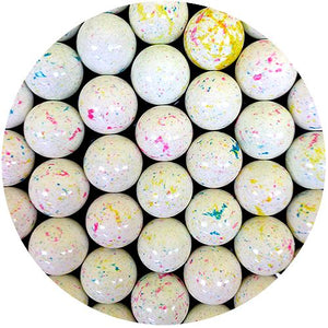 All City Candy Kaboom Speckled 1-Inch Jawbreakers with Candy Centers Bulk Unwrapped Concord Confections (Tootsie) For fresh candy and great service, visit www.allcitycandy.com