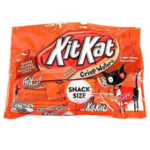 All City Candy Kit Kat Orange Snack Size Candy Bars - 10.29-oz. Bag Halloween Hershey's For fresh candy and great service, visit www.allcitycandy.com