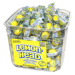 All City Candy Lemonhead Lemon Candy - 150 Piece Tub Jawbreakers Ferrara Candy Company For fresh candy and great service, visit www.allcitycandy.com