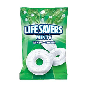 All City Candy Life Savers Mints Wint O Green - 6.25-oz. Bag Mints Wrigley Default Title For fresh candy and great service, visit www.allcitycandy.com