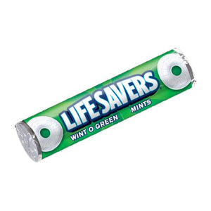 All City Candy Life Savers Mints Wint O Green - .84-oz. Roll Mints Wrigley 1 Roll For fresh candy and great service, visit www.allcitycandy.com
