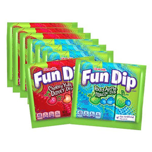 All City Candy Lik-M-Aid Fun Dip Candy .43-oz. Packet - 48 Count Case Powdered Candy Nestle For fresh candy and great service, visit www.allcitycandy.com