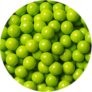 All City Candy Lime Green Sixlets Chocolate Candies - 2 LB Bulk Bag Bulk Unwrapped SweetWorks Default Title For fresh candy and great service, visit www.allcitycandy.com