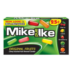 All City Candy Mike and Ike Original Fruits Chewy Candies .78-oz. Box - Case of 24 Chewy Just Born Inc For fresh candy and great service, visit www.allcitycandy.com