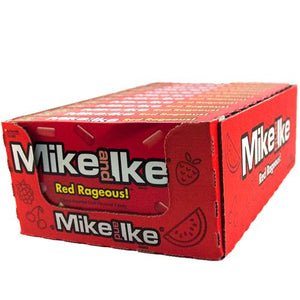 All City Candy Mike and Ike Red Rageous Chewy Candies - 5-oz. Theater Box Theater Boxes Just Born Inc Case of 12 For fresh candy and great service, visit www.allcitycandy.com