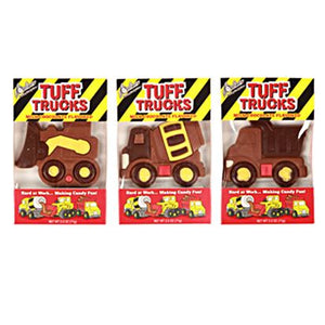 All City Candy Milk Chocolate Flavored Tuff Trucks Novelty R.M. Palmer Company 1 Box For fresh candy and great service, visit www.allcitycandy.com