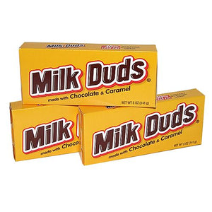 All City Candy Milk Duds Candy - 5-oz. Theater Box Chocolate Hershey's Case of 12 For fresh candy and great service, visit www.allcitycandy.com