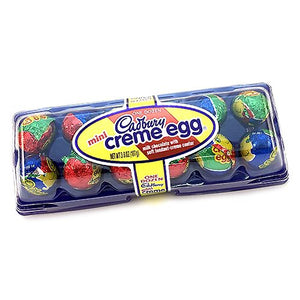 All City Candy Mini Cadbury Creme Eggs - 3.8-oz. Carton Easter Hershey's For fresh candy and great service, visit www.allcitycandy.com