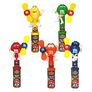 All City Candy M&M's Character Fan Candy Toy Novelty Candyrific 1 Piece For fresh candy and great service, visit www.allcitycandy.com