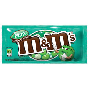 All City Candy M&M's Dark Mint Chocolate Candies - 1.5-oz. Bag Chocolate Mars Chocolate 1 Bag For fresh candy and great service, visit www.allcitycandy.com