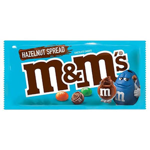 All City Candy M&M's Hazelnut Spread Chocolate Candies - 1.35 oz. Bag Chocolate Mars Chocolate For fresh candy and great service, visit www.allcitycandy.com