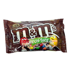 All City Candy M&M's Milk Chocolate Candies Fun Size Packs - 10.53-oz. Bag Chocolate Mars Chocolate For fresh candy and great service, visit www.allcitycandy.com